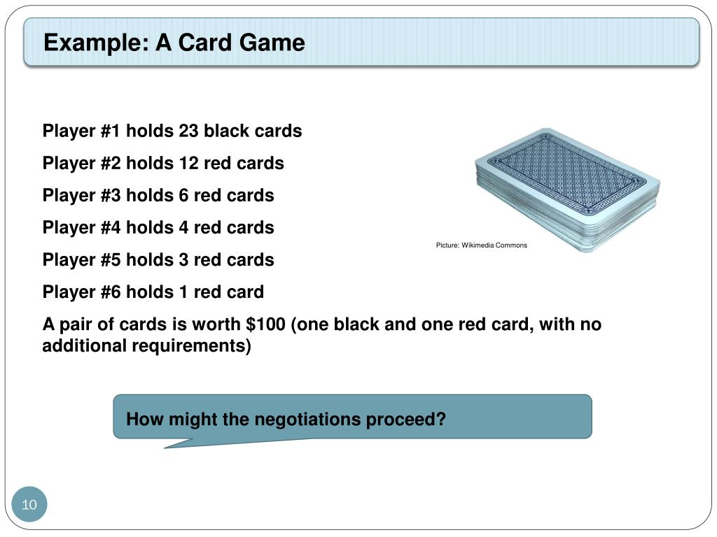 Example: A Card Game