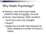 why health psychology13