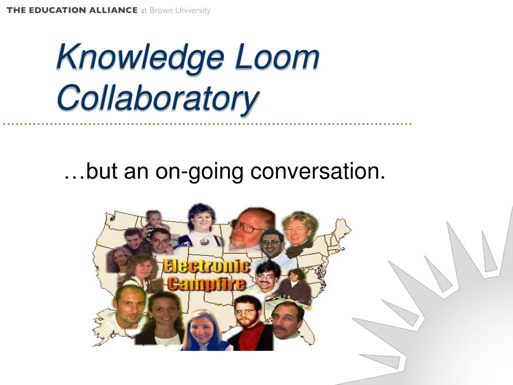 Knowledge Loom Collaboratory