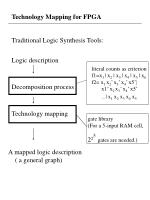 technology mapping for fpga19