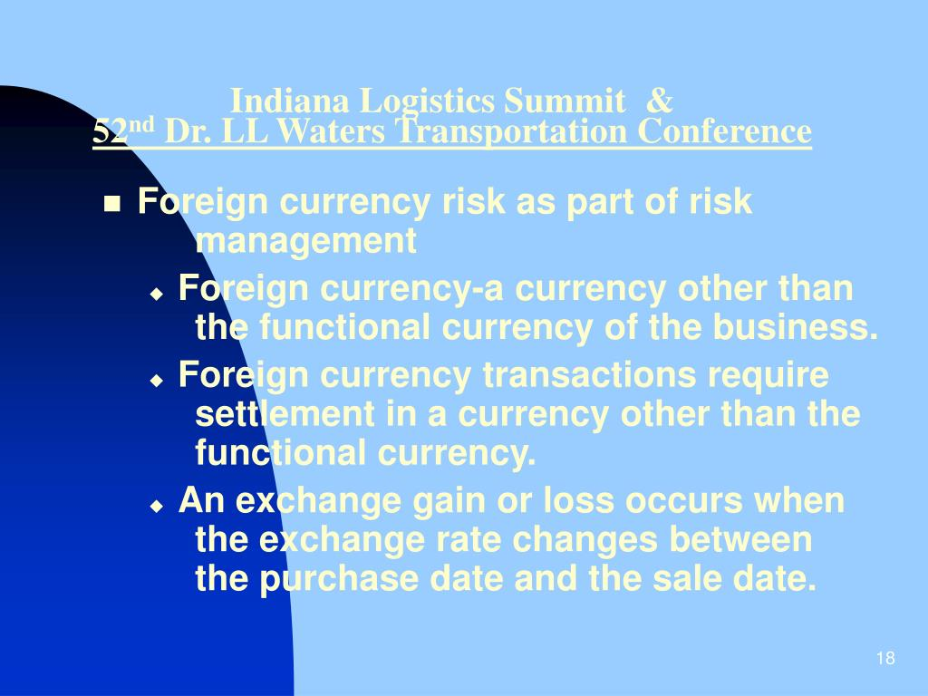 Indiana Logistics Summit  &