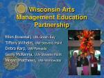 wisconsin arts management education partnership