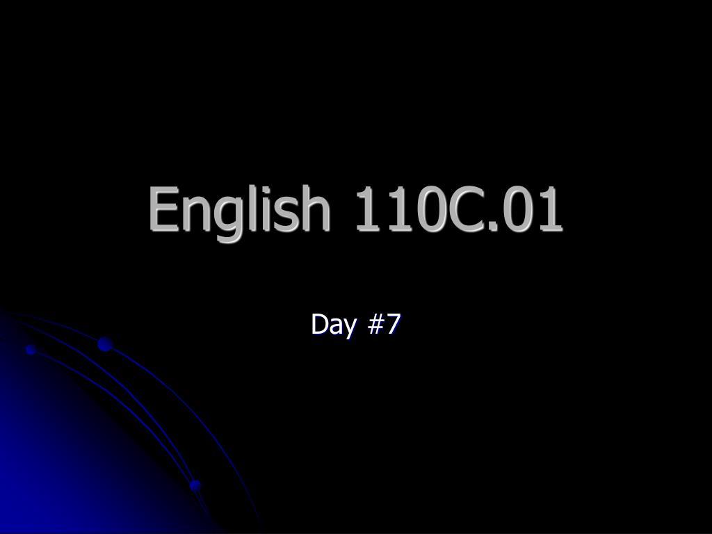 english 110c 01