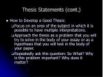 thesis statements cont6