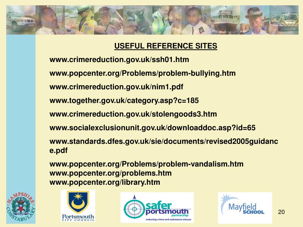 USEFUL REFERENCE SITES