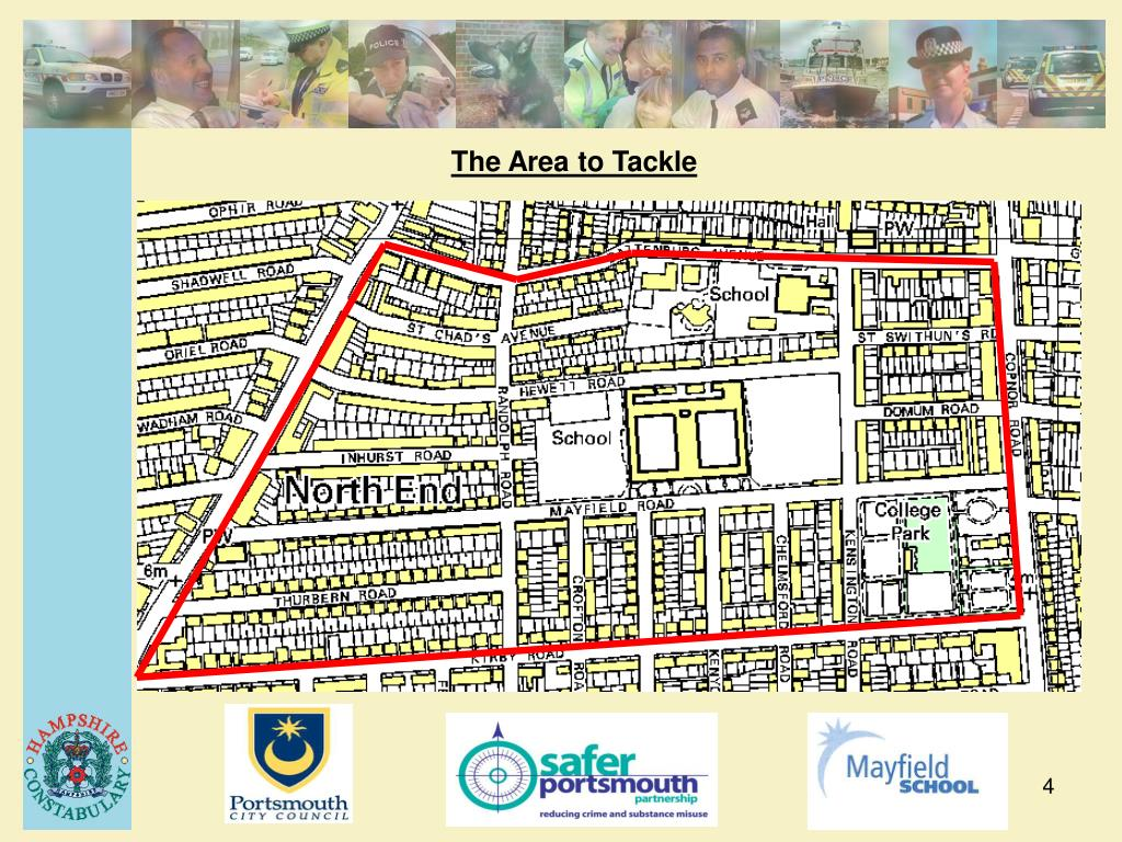 The Area to Tackle