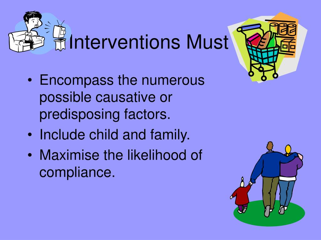 Interventions Must