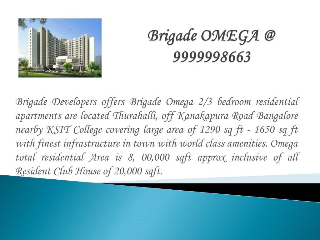 Brigade OMEGA @ 9999998663