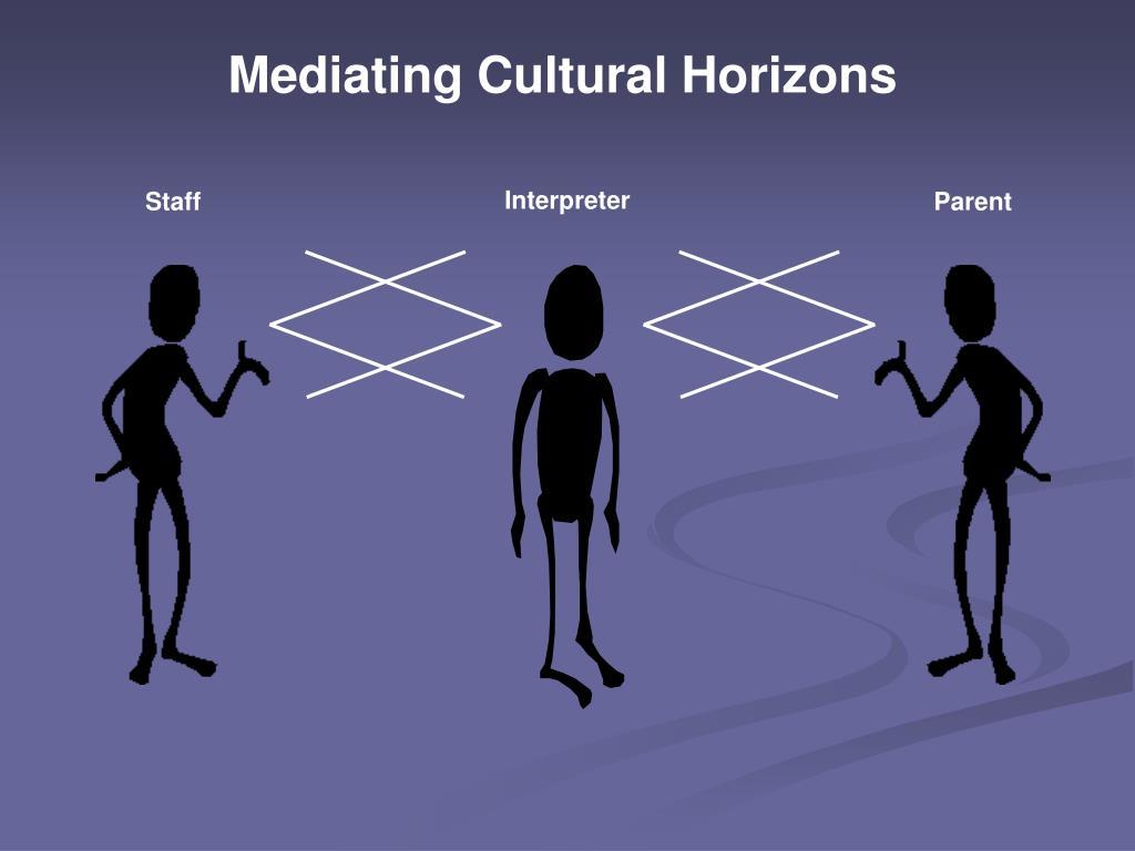 Mediating Cultural Horizons