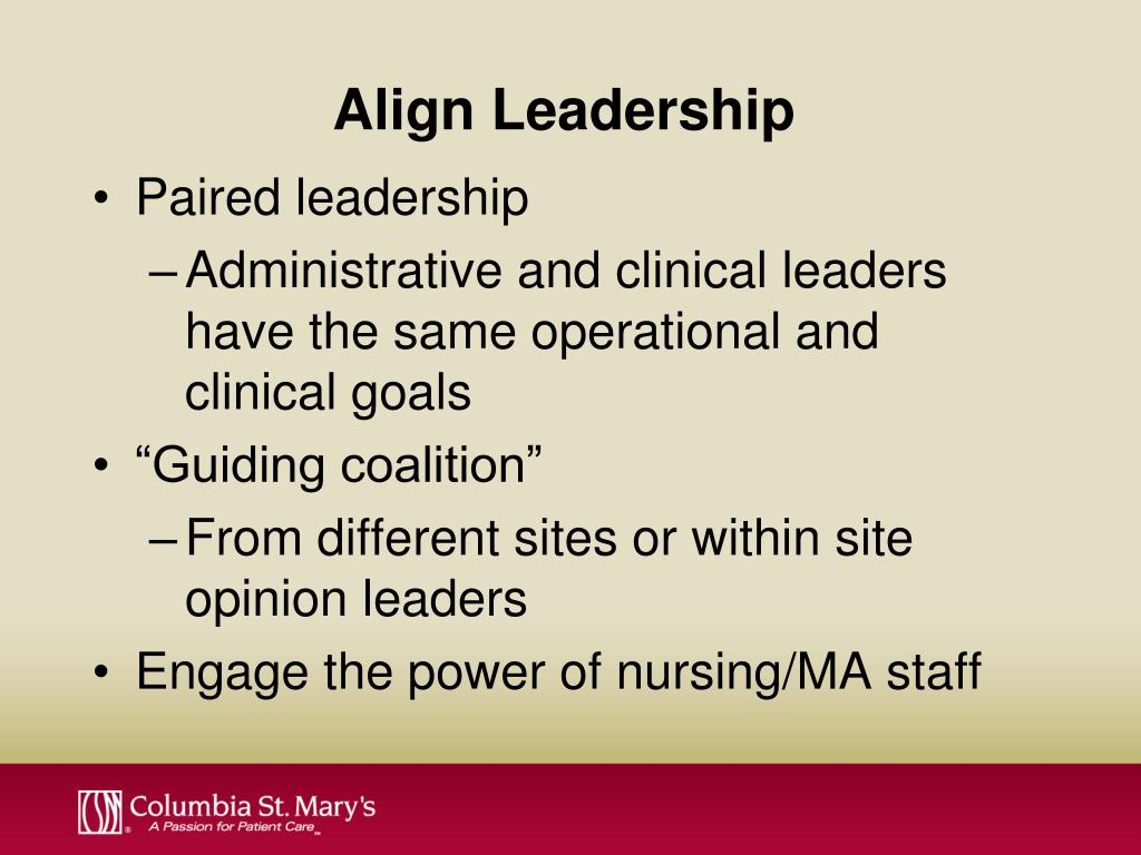 Align Leadership