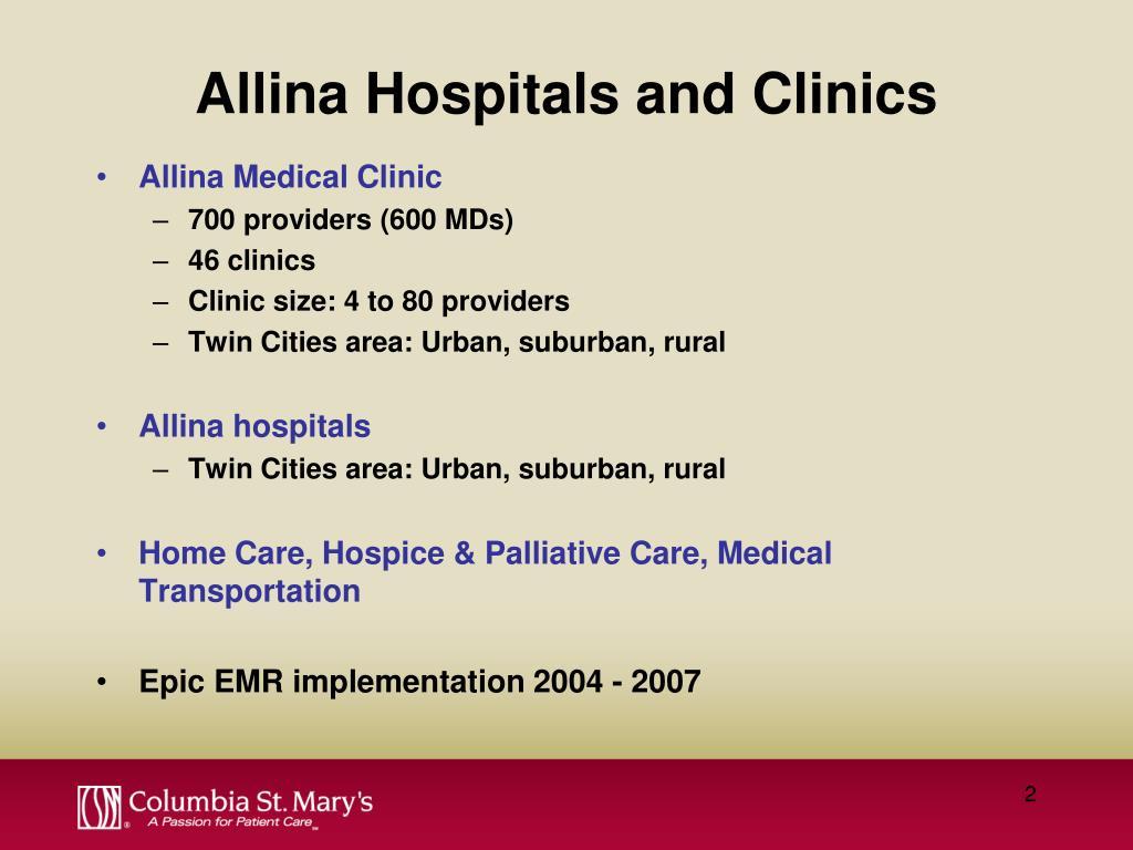 Allina Hospitals and Clinics