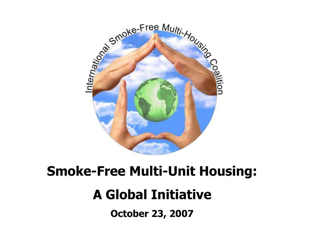 Smoke-Free Multi-Unit Housing: