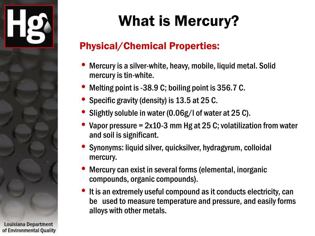 What is Mercury?