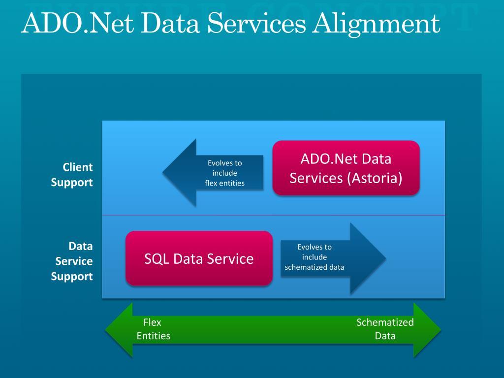 ADO.Net Data Services Alignment