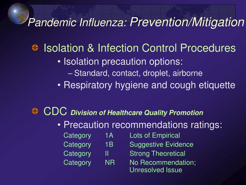 Pandemic Influenza: