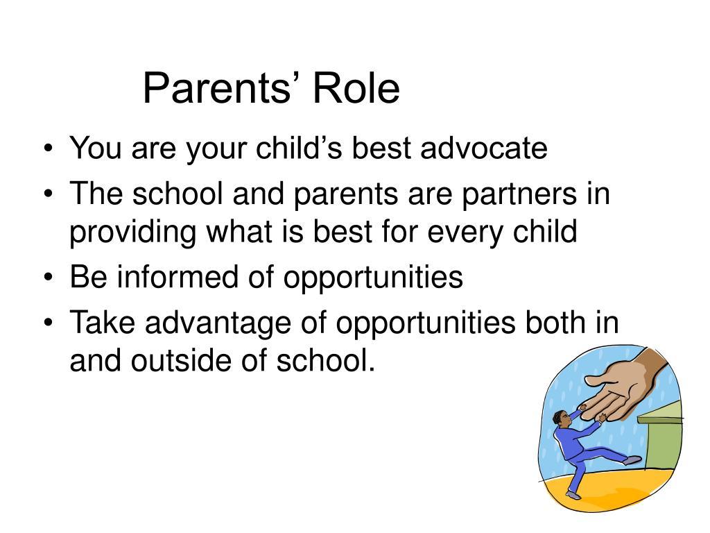 Parents' Role