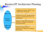 business it architecture planning