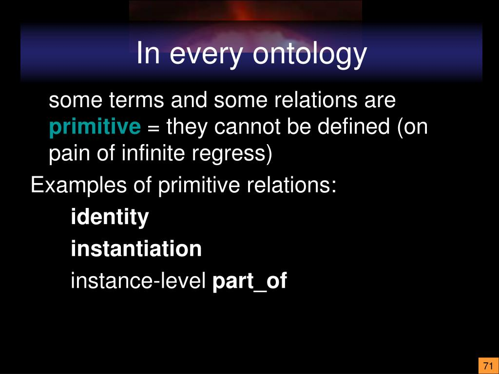 In every ontology