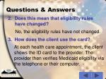 questions answers10