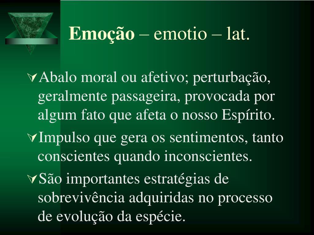 Emoção