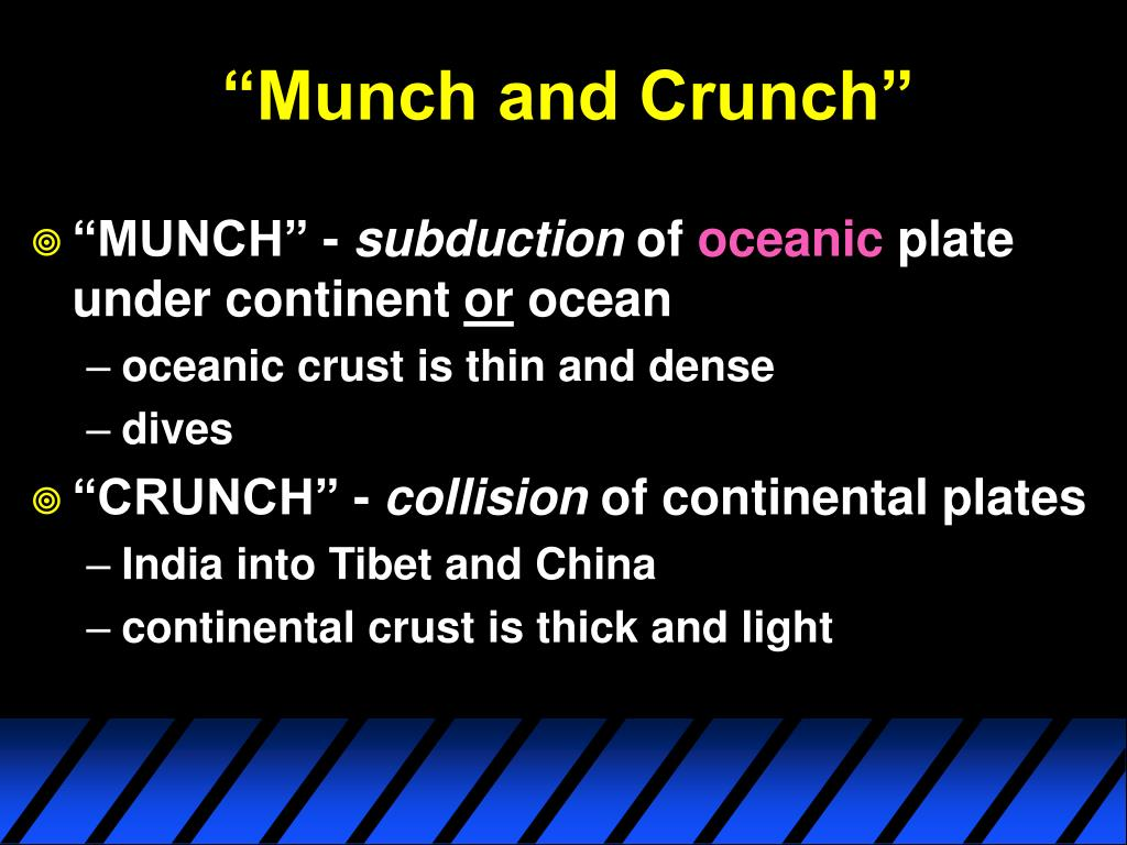 """Munch and Crunch"""