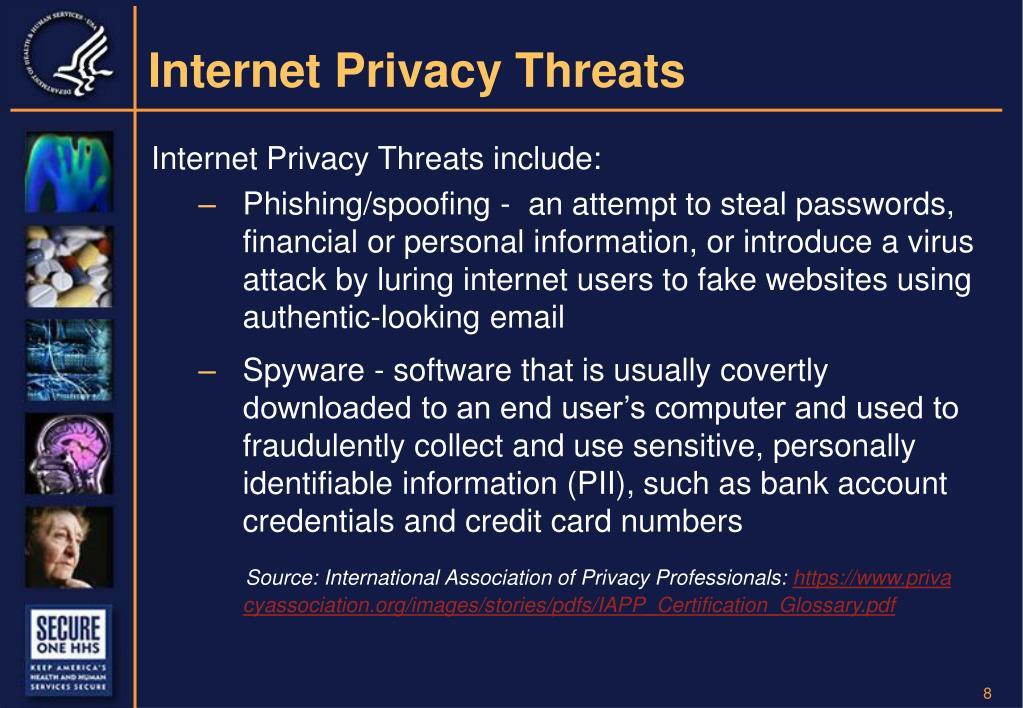 Internet Privacy Threats