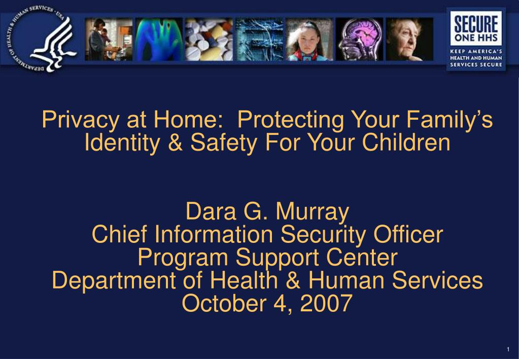 Privacy at Home:  Protecting Your Family's Identity & Safety For Your Children