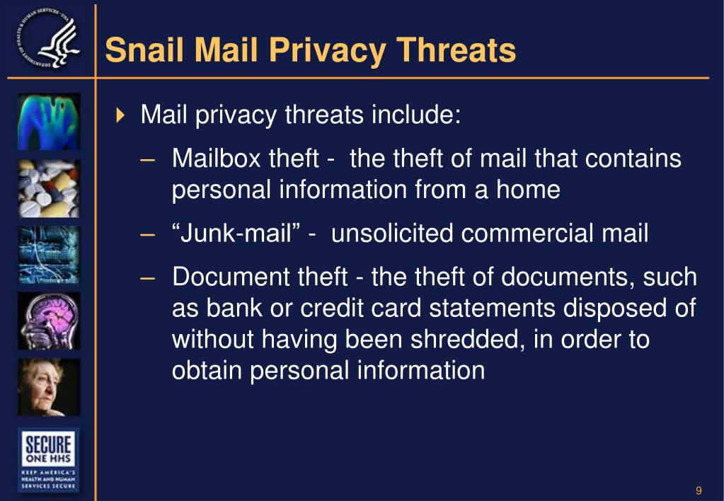 Snail Mail Privacy Threats