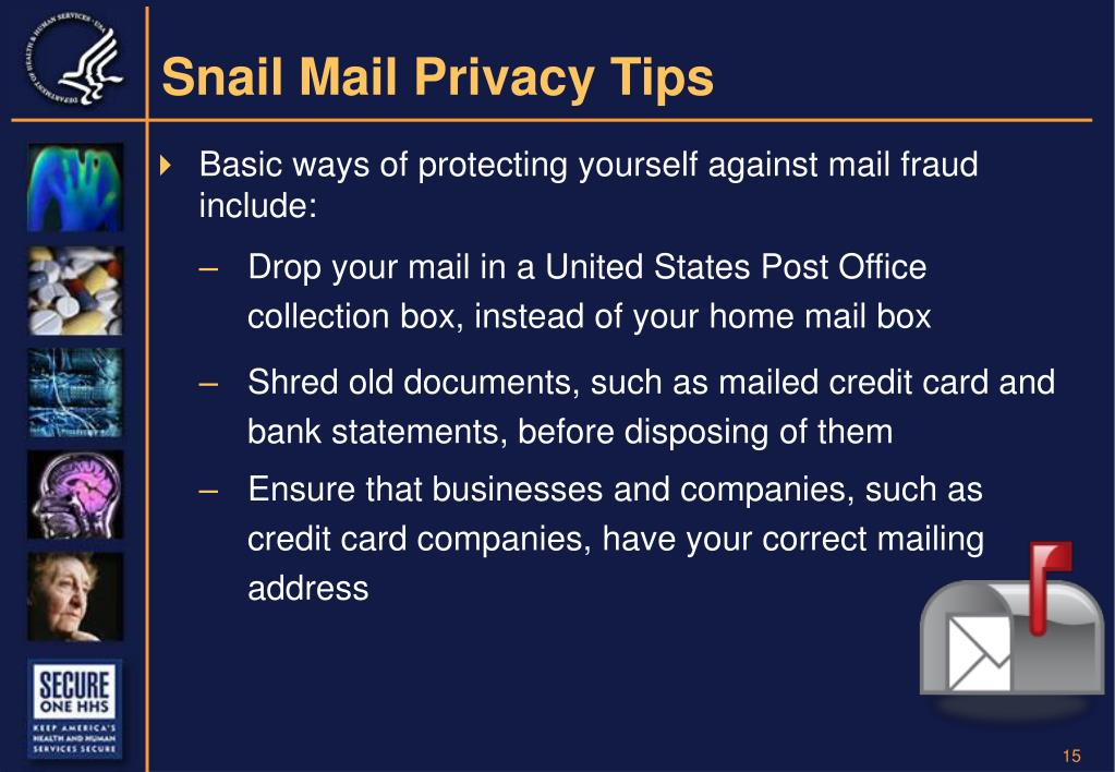 Snail Mail Privacy Tips