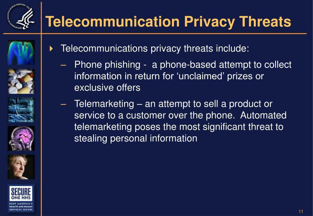 Telecommunication Privacy Threats
