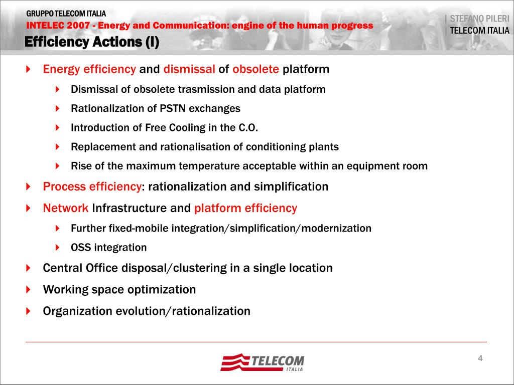 Efficiency Actions (I)