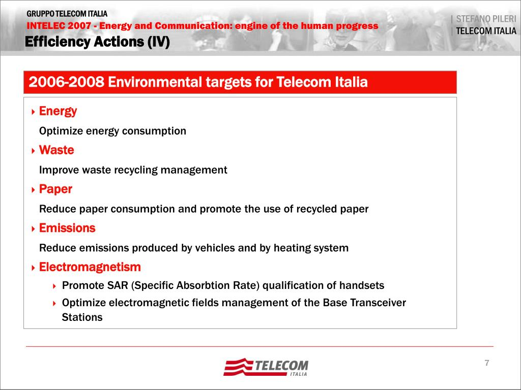 Efficiency Actions (IV)