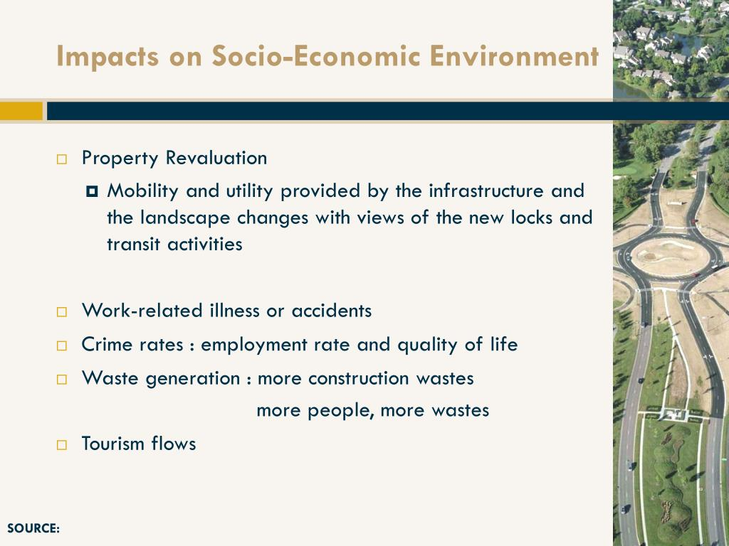 Impacts on Socio-Economic Environment