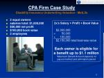 cpa firm case study