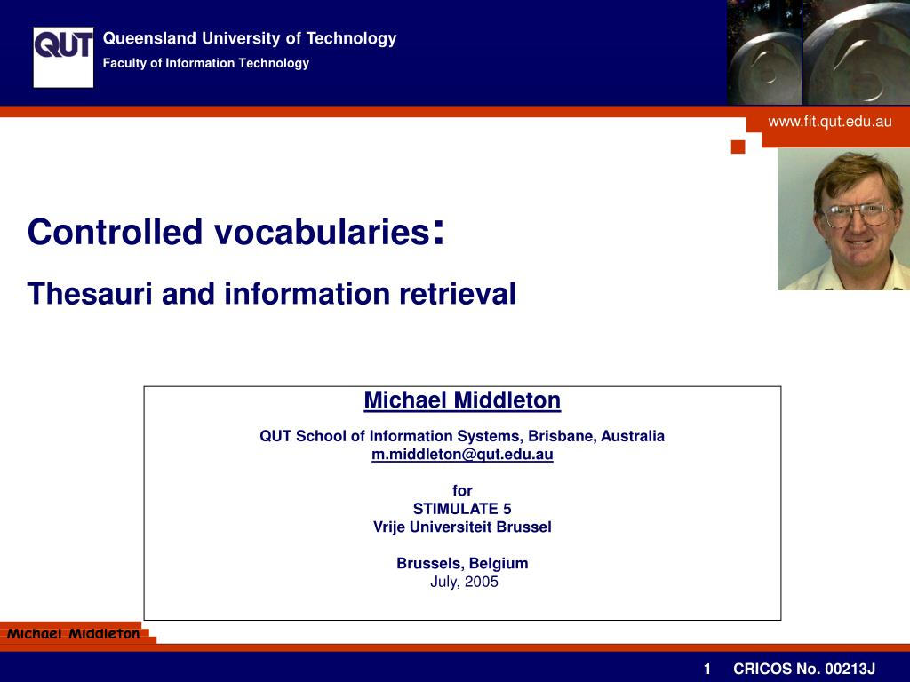 controlled vocabularies thesauri and information retrieval