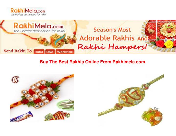 Buy The Best Rakhis Online From Rakhimela.com