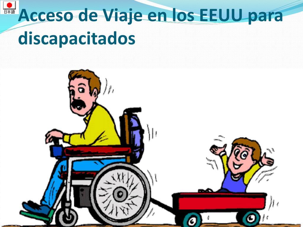 Acceso de Viaje en los EEUU para discapacitados