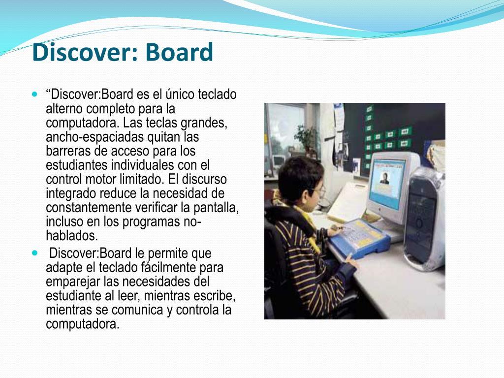 Discover: Board
