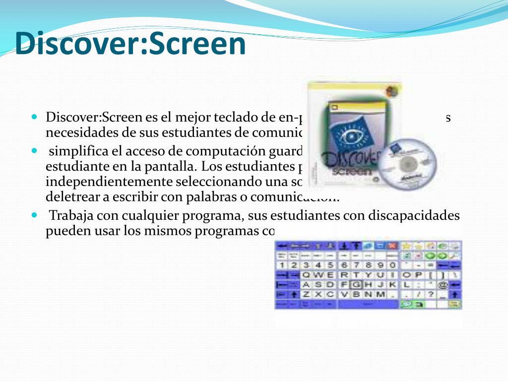 Discover:Screen
