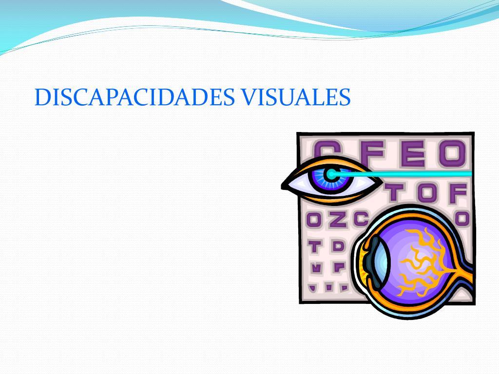 DISCAPACIDADES VISUALES