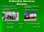 collection services division