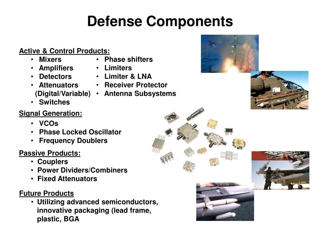 Defense Components
