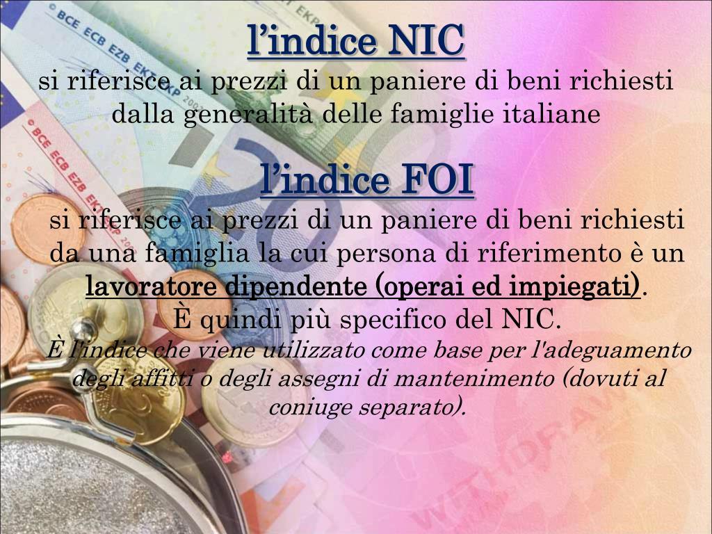 l'indice NIC