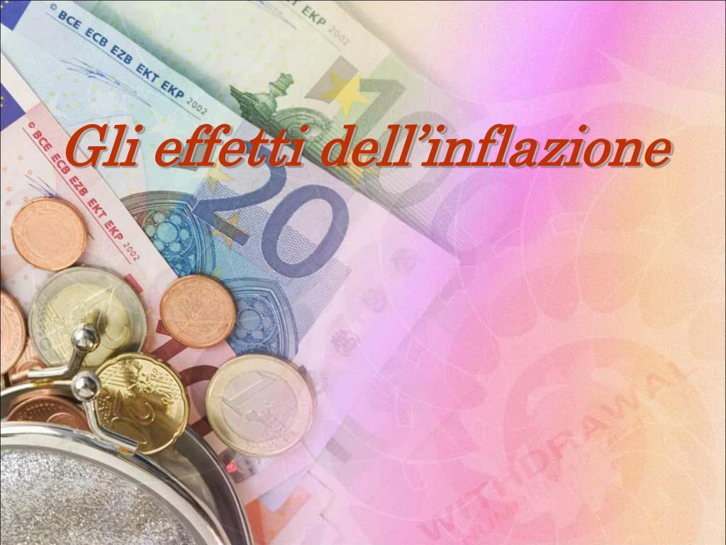 Gli effetti dell'inflazione