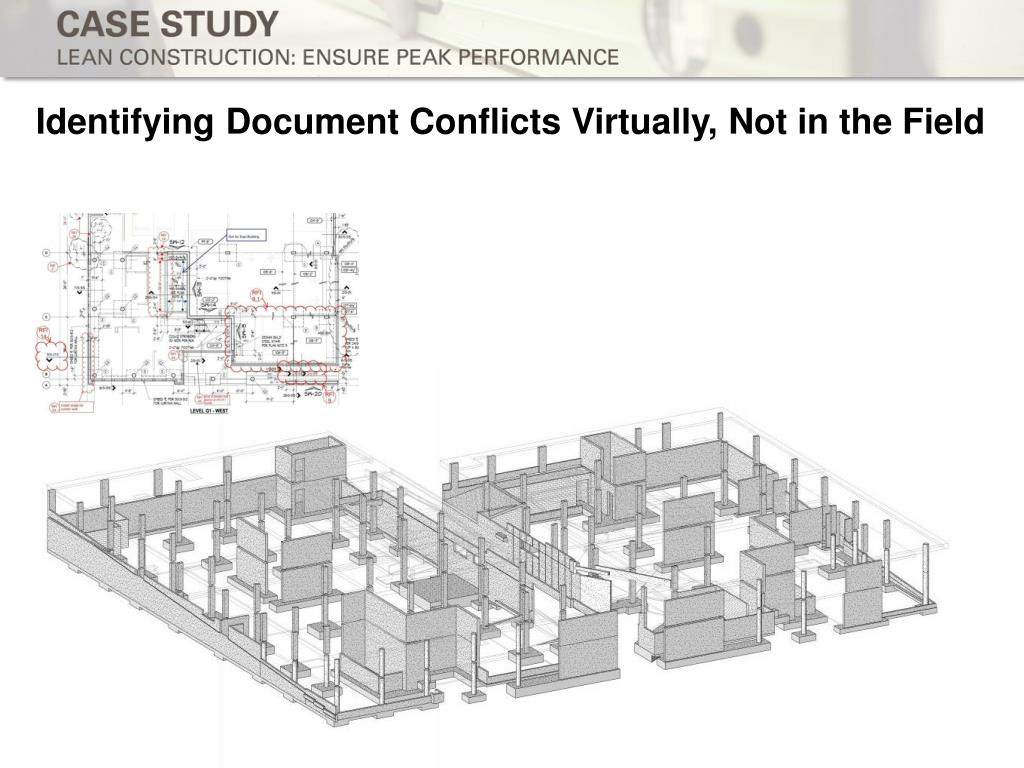 Identifying Document Conflicts Virtually, Not in the Field
