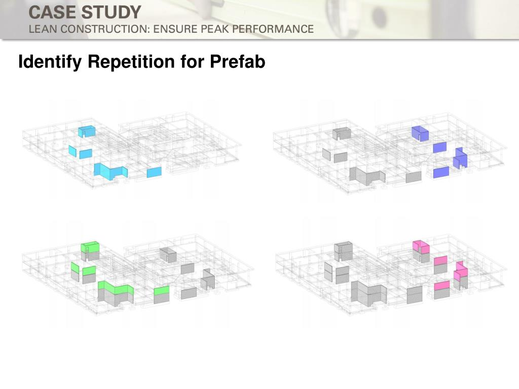 Identify Repetition for Prefab