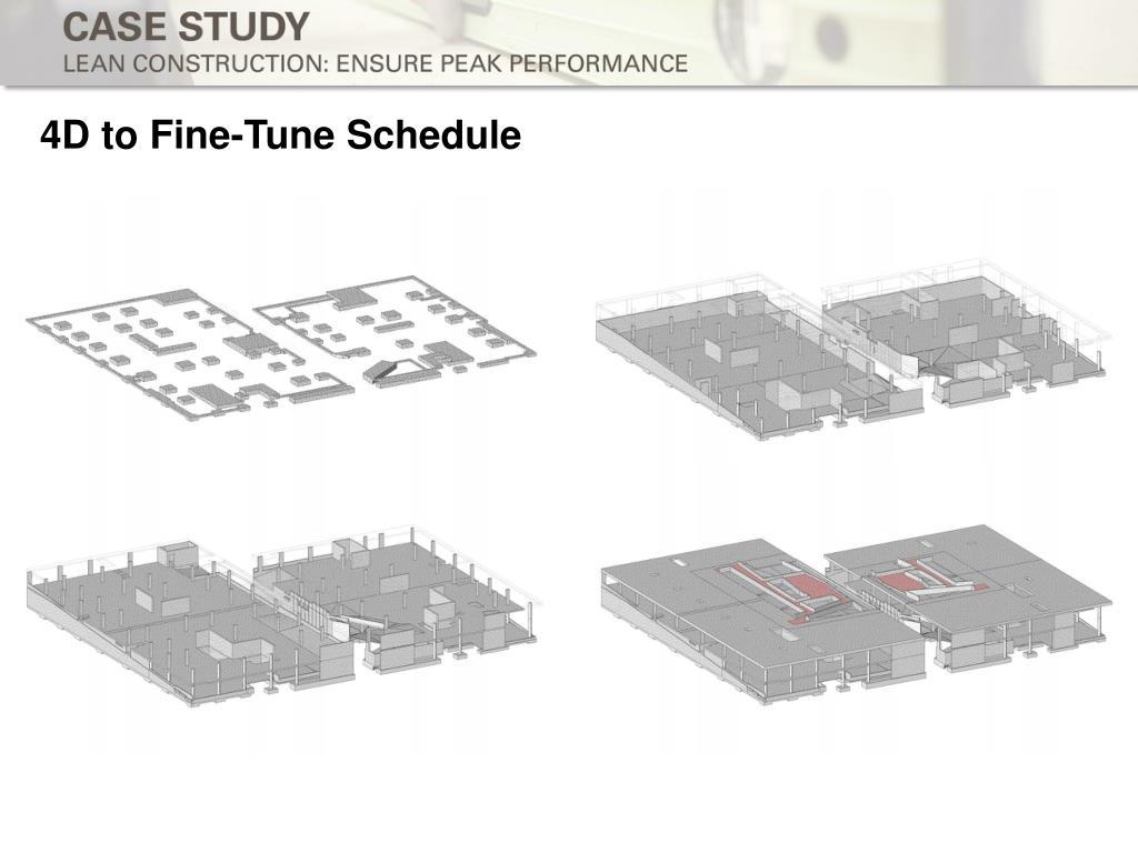 4D to Fine-Tune Schedule