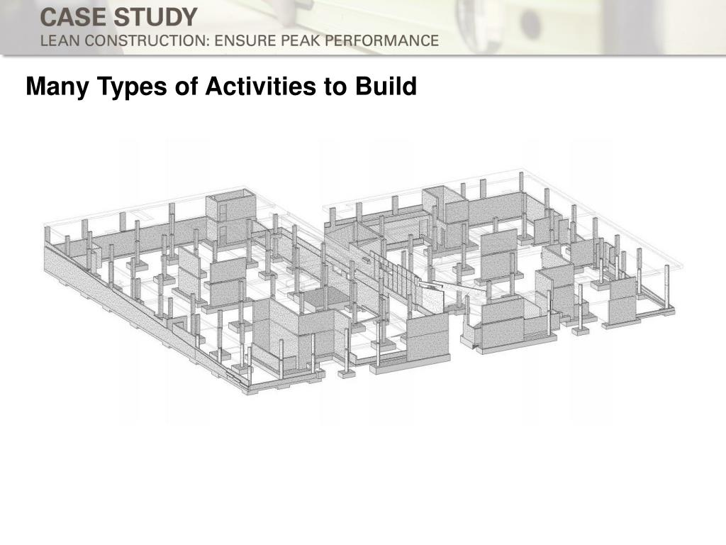 Many Types of Activities to Build