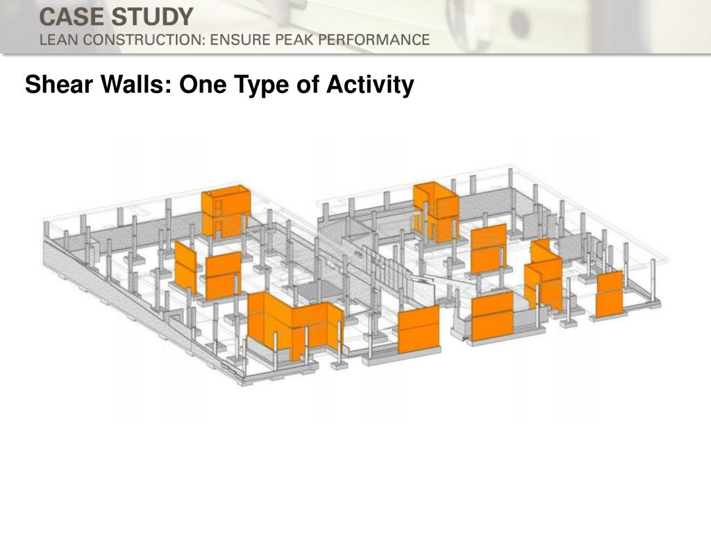 Shear Walls: One Type of Activity