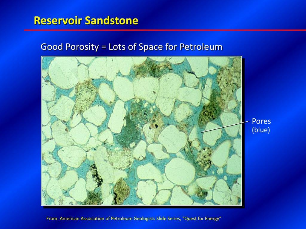 Reservoir Sandstone